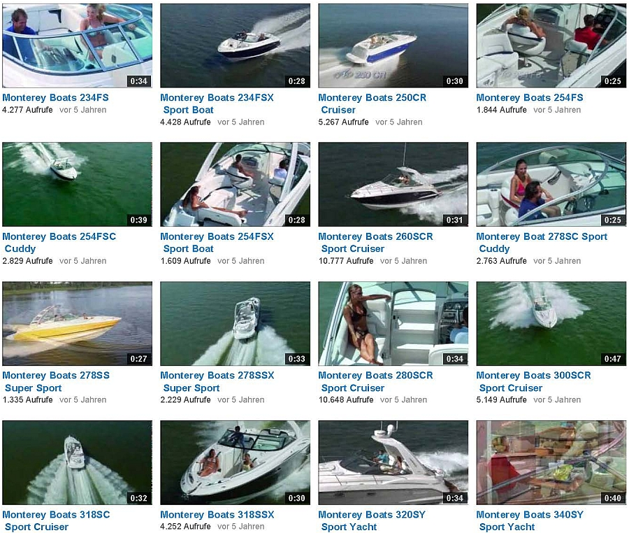 Videos von montereyboats